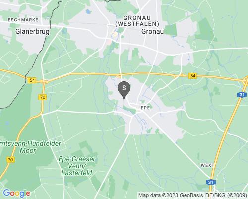 Google Karte von Schlüsseldienst Gronau