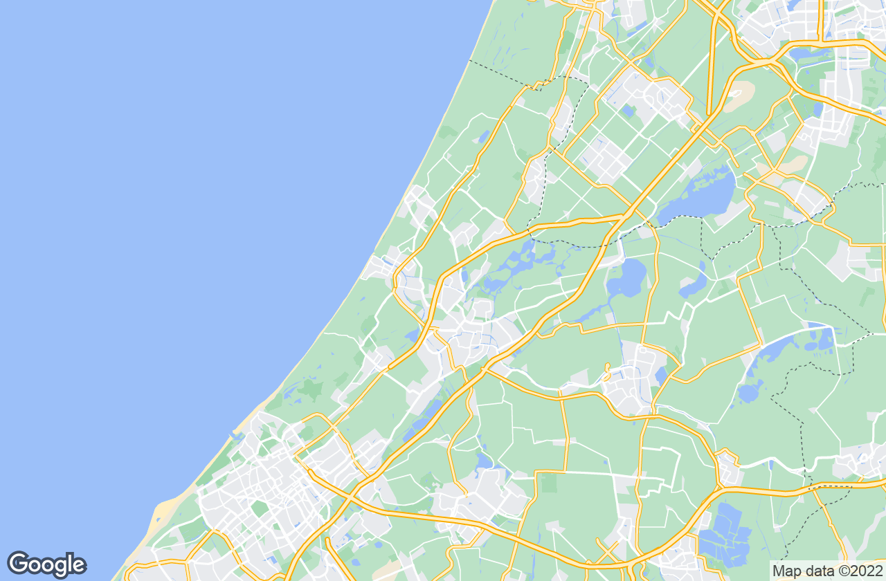 Google Map of Oegstgeest