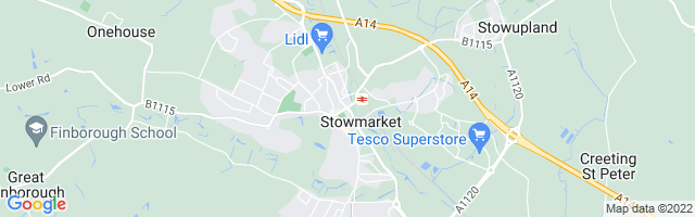 Map Of Stowmarket
