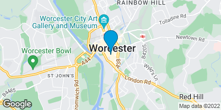 Map of 26 High Street in Worcester