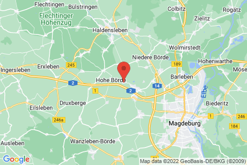 Karte Groß Santersleben