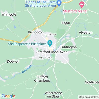 Clopton House Location