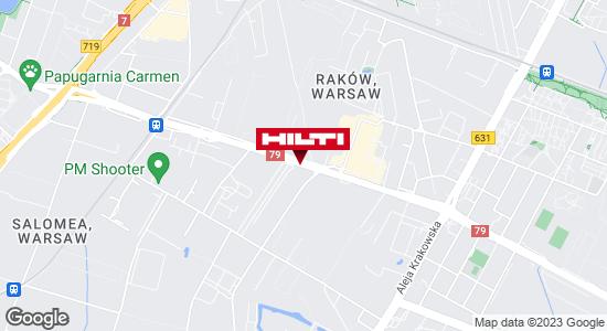 Wyświetl instrukcję Hilti Store (ul. Łopuszańska) Warszawa