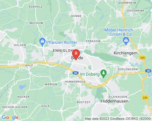 Google Karte von Rohrreinigung Bünde