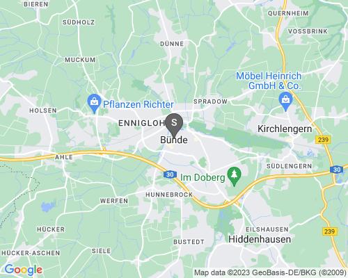 Google Karte von Schlüsseldienst Bünde