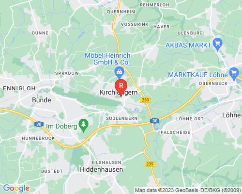 Google Karte von Rohrreinigung Kirchlengern