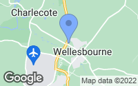Map of Wellesbourne, Warwickshire