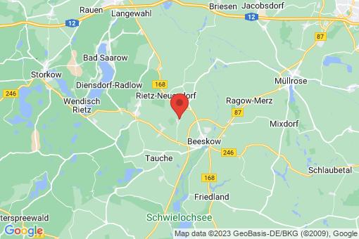 Karte Rietz-Neuendorf Birkholz