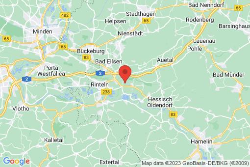 Karte Rinteln Westendorf