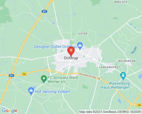 Google Karte von Rohrreinigung Ochtrup