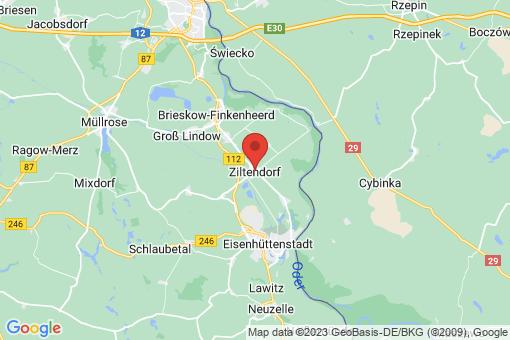 Karte Ziltendorf
