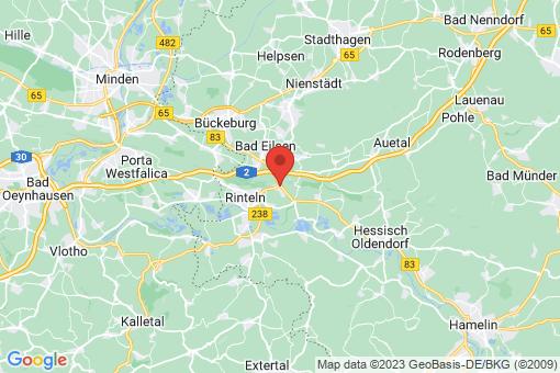 Karte Rinteln Steinbergen