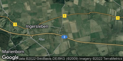 Google Map of Ostingersleben
