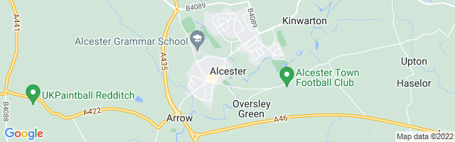 Map Of Alcester