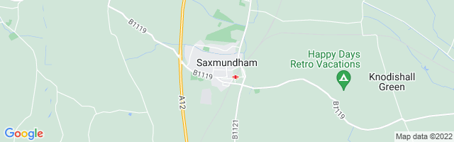 Map Of Saxmundham