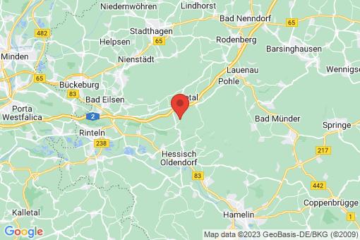Karte Auetal Rannenberg