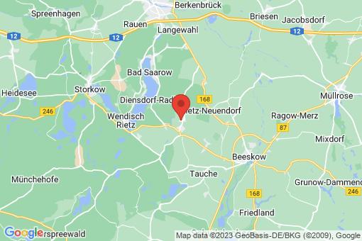 Karte Rietz-Neuendorf Herzberg