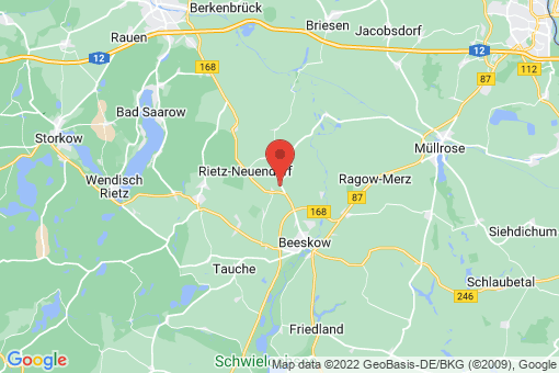 Karte Rietz-Neuendorf Groß Rietz