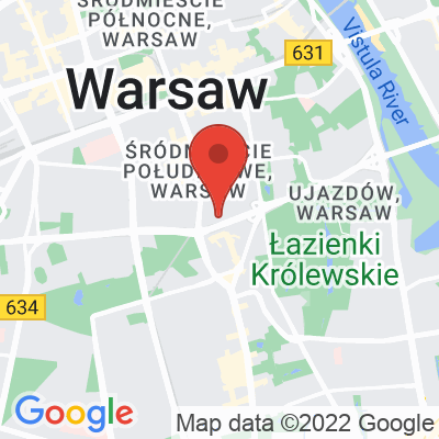 Map showing Ministerstwo Kawy