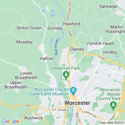 Northwick Park, Worcester Location