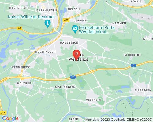Google Karte von Rohrreinigung Porta Westfalica