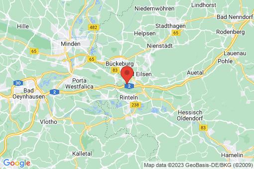 Karte Luhden Schermbeck