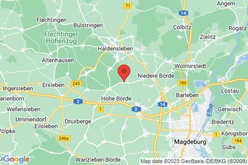 Karte Ackendorf