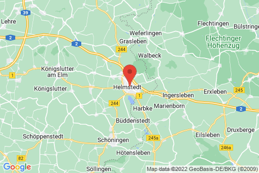 Karte Helmstedt