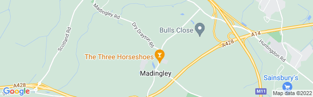 Map Of Madingley