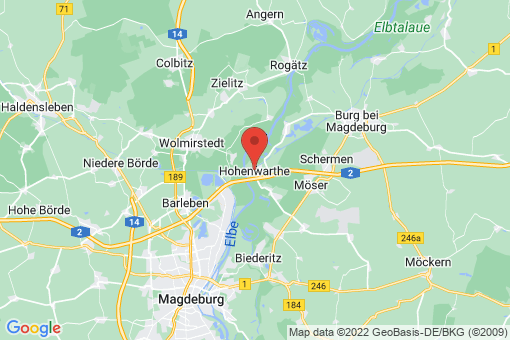 Karte Hohenwarthe
