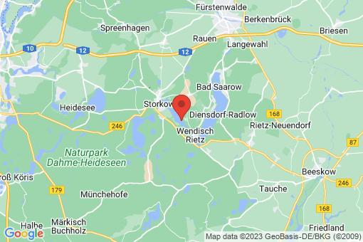 Karte Reichenwalde Dahmsdorf