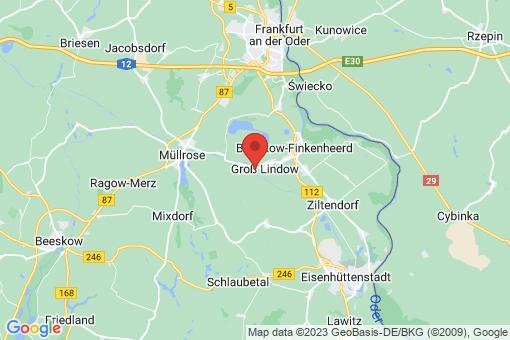Karte Groß Lindow Weißenspring