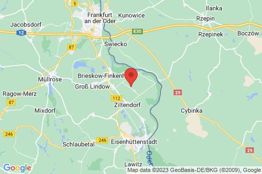 Karte Ziltendorf Ernst-Thälmann-Siedlung
