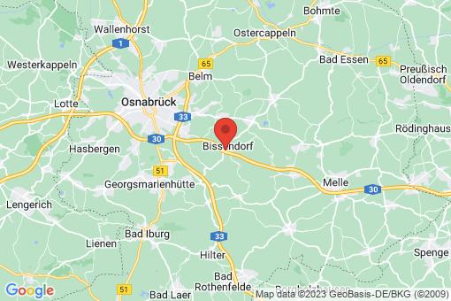 Karte Bissendorf