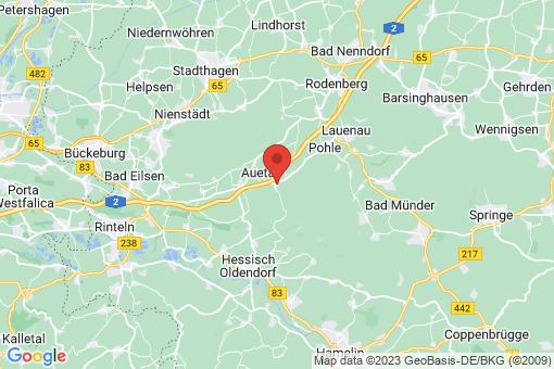 Karte Auetal Hattendorf