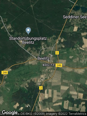 Google Map of Beelitz
