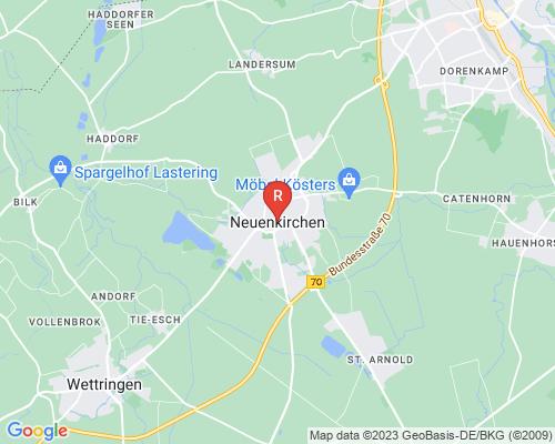 Google Karte von Rohrreinigung Neuenkirchen