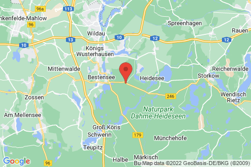 Karte Gräbendorf