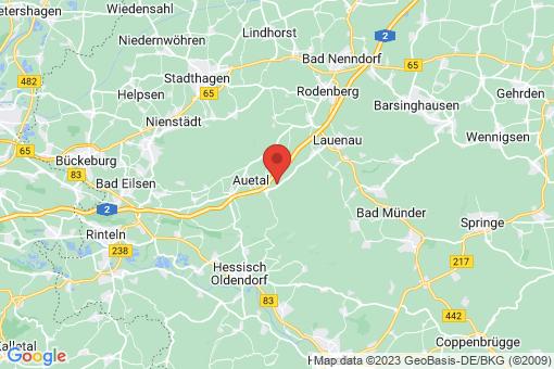 Karte Auetal Antendorf