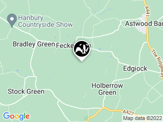 A static map of Feckenham Wylde Moor