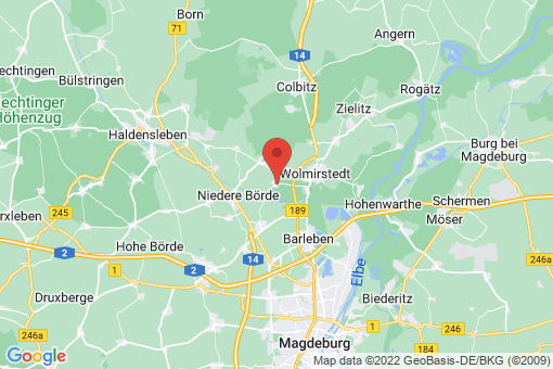 Karte Jersleben