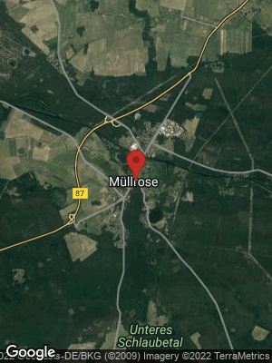 Google Map of Müllrose