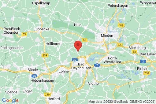 Karte Bad Oeynhausen