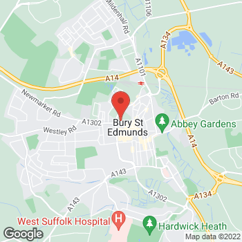 Map of wilko Bury St Edmunds at Wilko 88-89 Risbygate Street, Bury St Edmunds,  IP33 3AQ