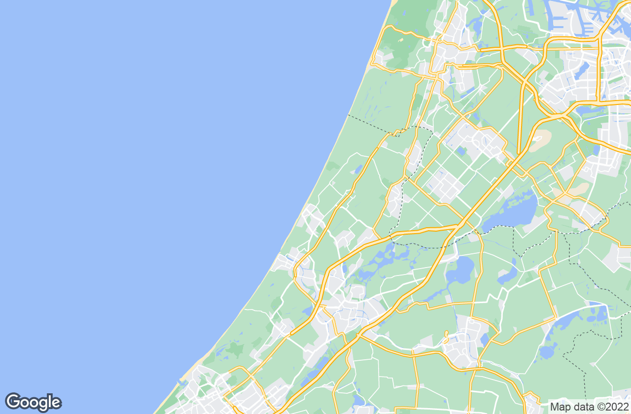 Google Map of Noordwijk