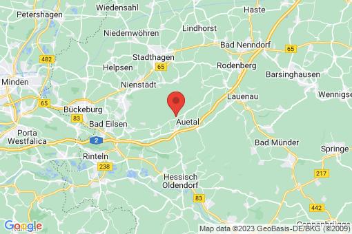 Karte Auetal Westerwald