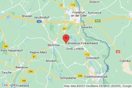 Karte Groß Lindow Schlaubehammer