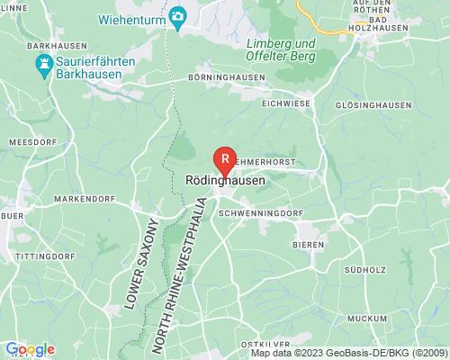 Google Karte von Rohrreinigung Rödinghausen