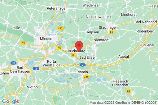 Karte Bückeburg Bergdorf