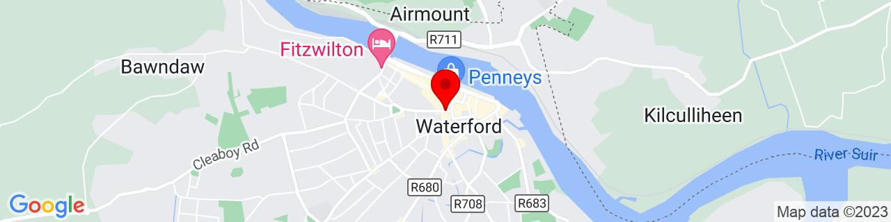 Google Map of 52.260044444444446, -7.111752777777777